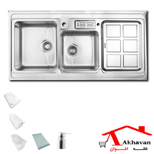 سینک ظرفشویی روکار کد 362 اخوان - خانه اخوان