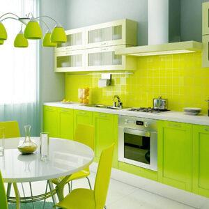 آشپزخانه های رنگی خانه ها
