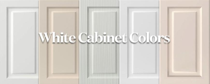 کابینت های سفید در آشپزخانه ها
